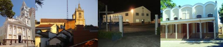 Catedral Nossa Senhora da Ponte, e Pqs: Mãe dos Homens,   Nossa Senhora Aparecida, São João Batista