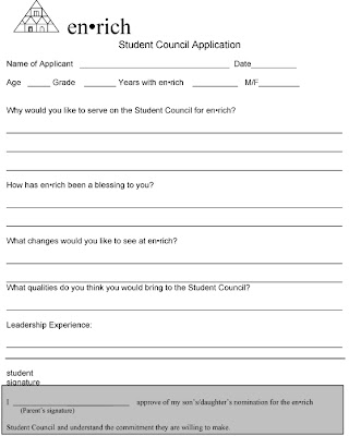 student council application Sbms stu co 09/10 student council election application 2009-2010 student council is a wonderful opportunity to act as a role model for other students and learn to.