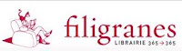 librairie filigranes logo