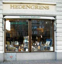 hedengrens bookstore stockholm