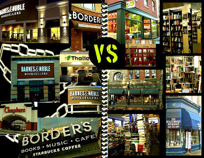 chain versus independent bookstores
