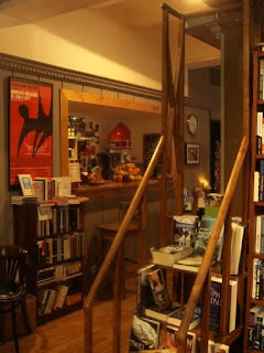 book in bar bookshop