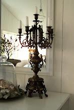 Favorit ljusstaken här hemma...