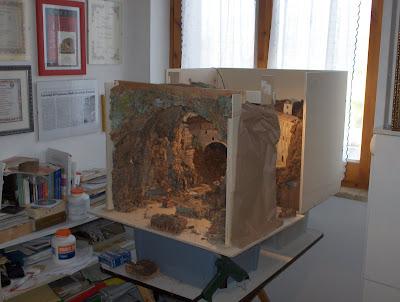 I presepi di francesco aiello come realizzare la for Come costruire un mazzo di 2 piani