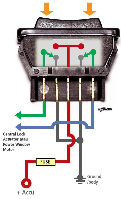 Tips Memasang Saklar Power Window Atau Central Lock