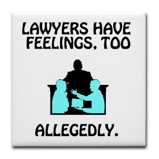 What Angela Loves Today: I Love Lawyer Jokes (Bring 'em on!)