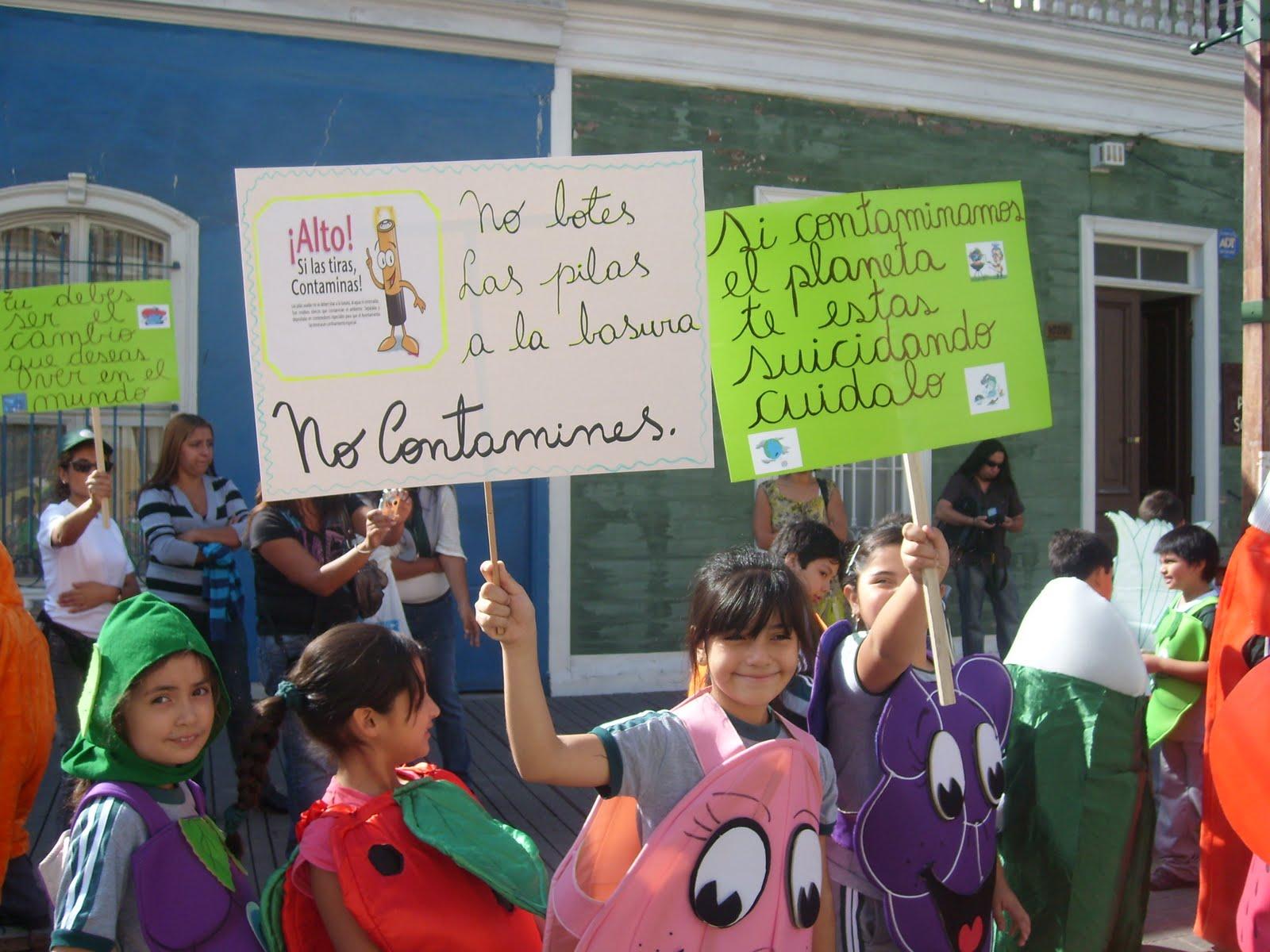 Lemas del medio ambiente para pancartas - Imagui