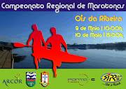 Regional de Maratonas de Canoagem em Ois da Ribeira