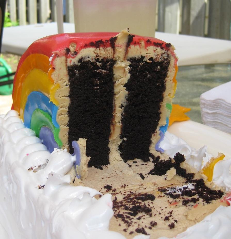 Lille Mor: Rainbow Cake
