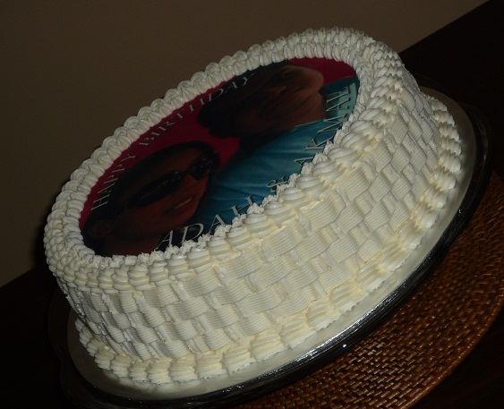 Edible Cake Images Custom : GG Home Biz Cakes & Wedding Cakes: Birthday Cake with ...