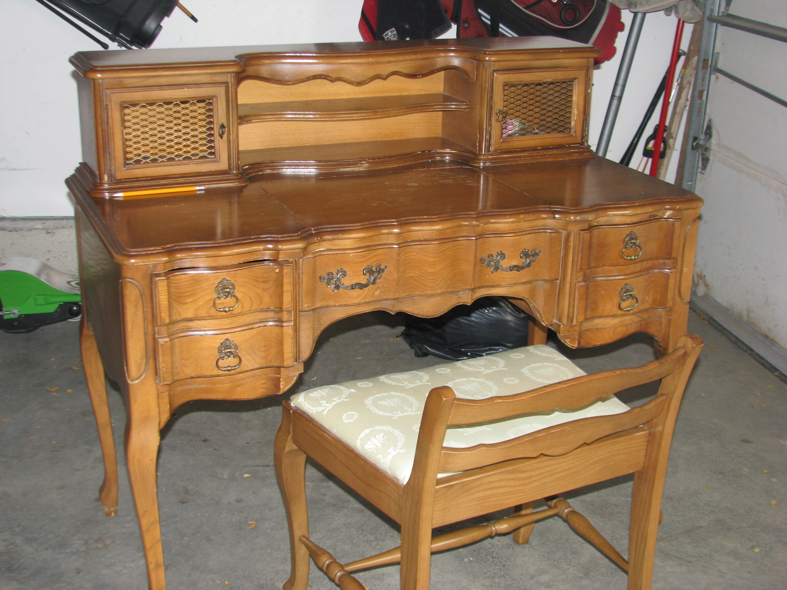 shelves furniture century computer roth allen couch for out sale desk pull tv patio and craigslist console mid dresser