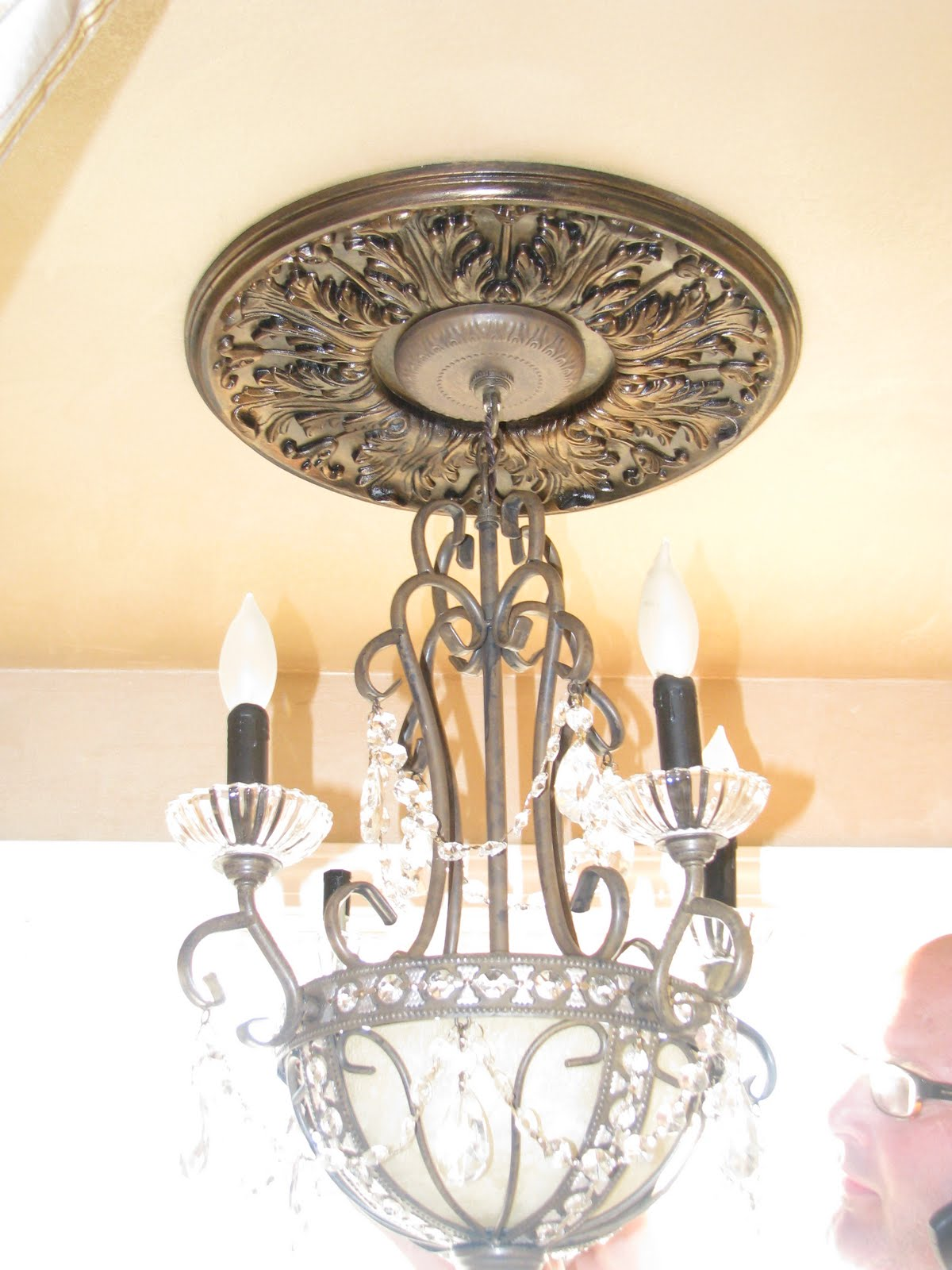 I Was Tired Of Having A Broken Chandelier The Magic