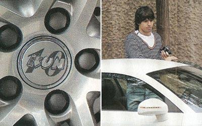 El Audi de Sergio Aguero