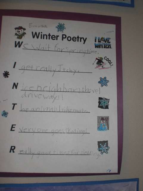 How to write kids poems