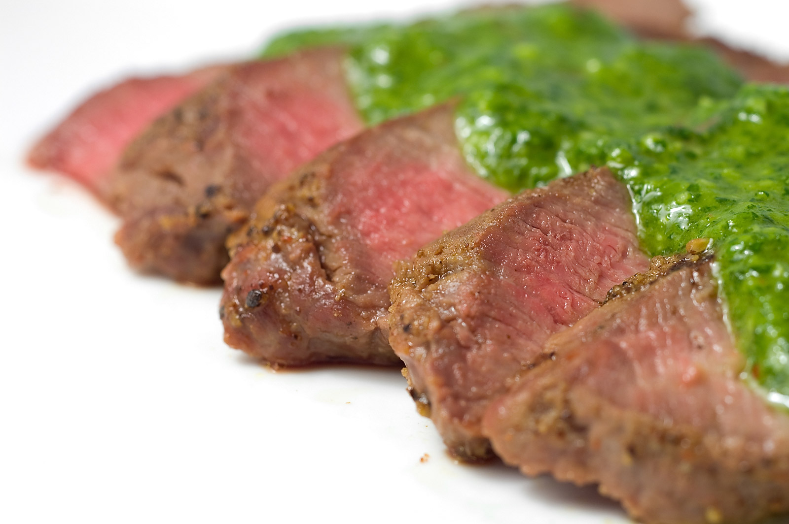 ... Affair With Truffles: Argentinian Flank Steak with Chimichurri Sauce