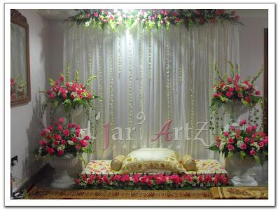 contoh gambar pelamin perkahwinan melayu