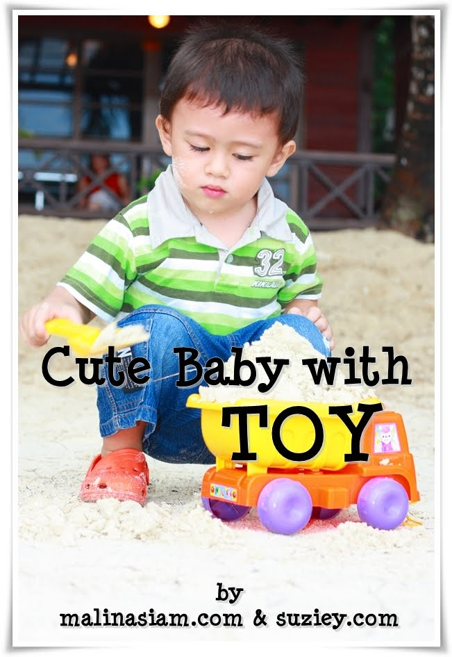 Cute Baby Toys : My boy cute baby with toy contest