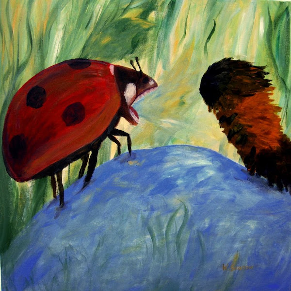 Where Ladybugs Roar ~ Wendy&#39;s Writing Blog