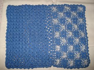 Saco de Guardanapo em Crochet (aberto)