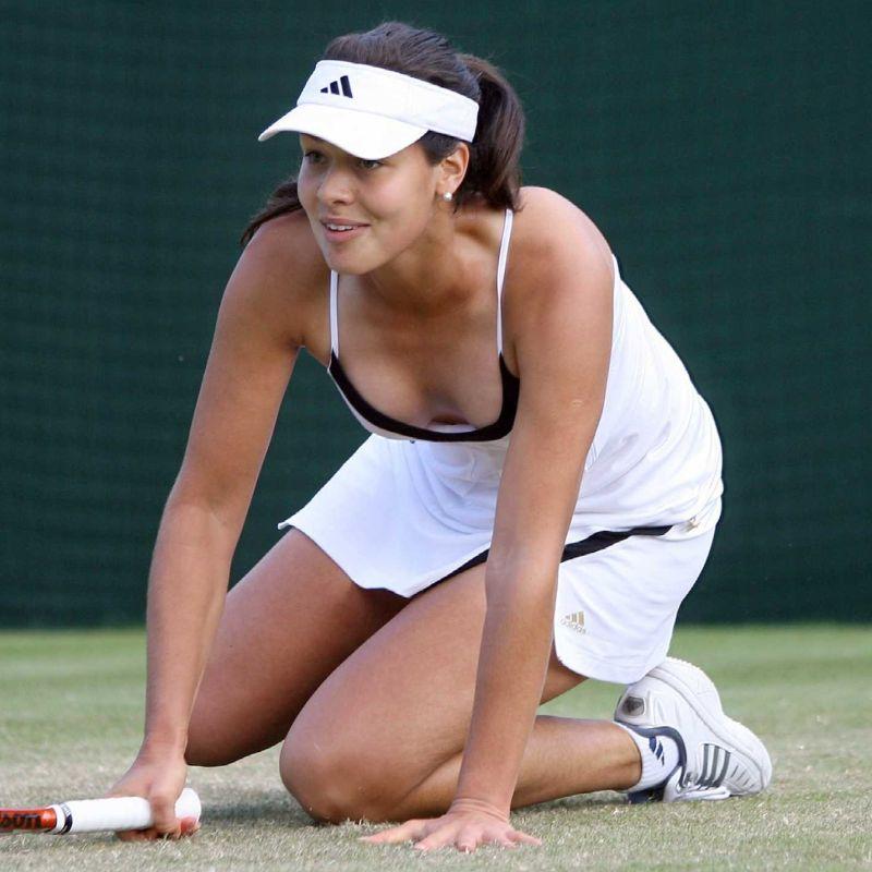 Ana ivanovic tribute two angles thick cum 3