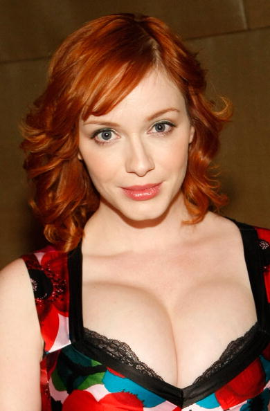 christina hendricks weight height. Christina Hendricks In Dress