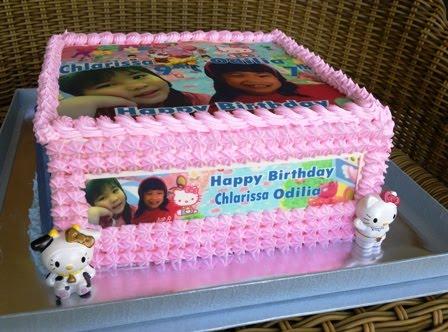 Pattiserie Online Cake Shop Cirebon Birthday Cake With