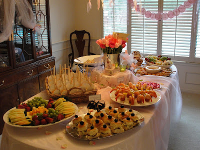 butler for hire catering food blog baby shower
