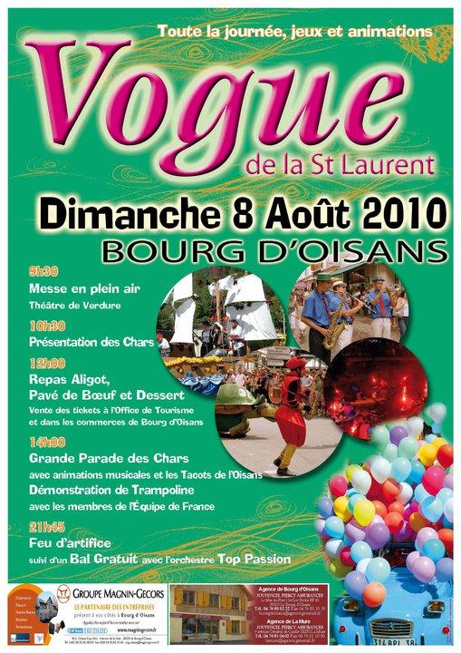 News de l 39 office de tourisme bourg d 39 oisans vogue de la - Office de tourisme bourg saint andeol ...