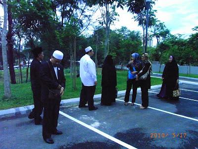 PU Bersama pegawai dari TTDI NAZA, PJM Murad, Herbalis Hj Zakaria