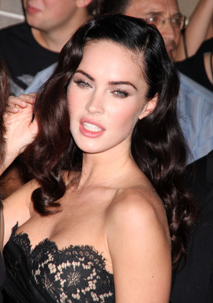megan fox hair color dye. crazy hair color dye. megan