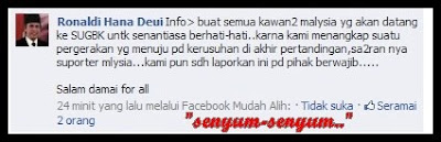 FINAL KE-2 PIALA SUZUKI:indonesia bakal merusuh???