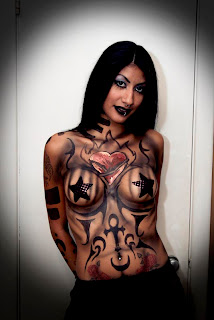 bodypainting women