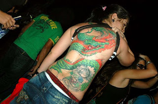 back body tattoo art
