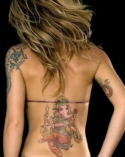 bikine girls with tattoo