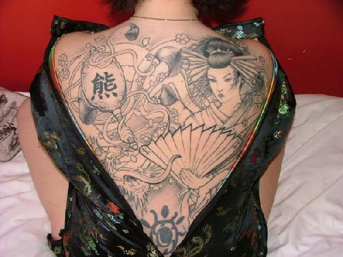 Dragon Tattoo Half Sleeve. Gallery tattoo women
