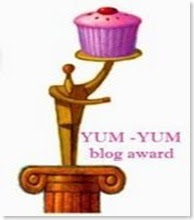 YUM-YUM blog award