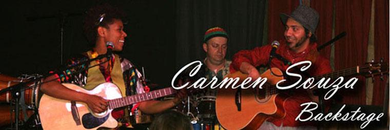 Carmen Souza Backstage