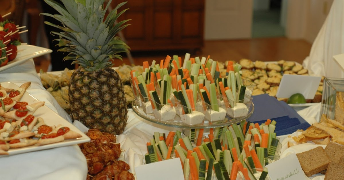 Carrie Roberts Catering Hors DOeuvres Wedding Reception For 50
