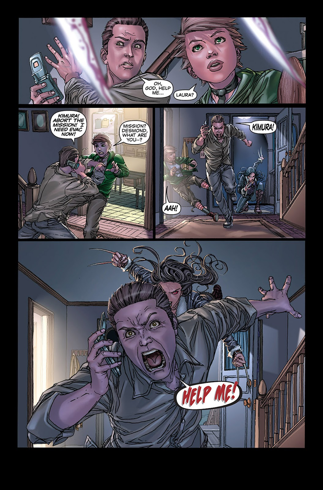 X-23: Target X Issue #4 #4 - English 3