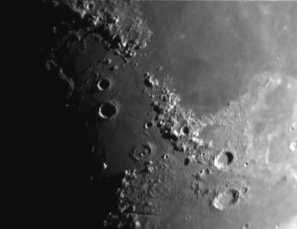 Detalle lunar