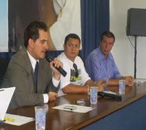 palestra no seminário no Paraná