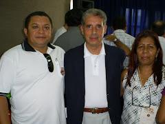 JOSÉ ANTONIO,PREFEITO DE PORTO ALEGRE JOSÉ FOGAÇA E EUNICE CABRAL.
