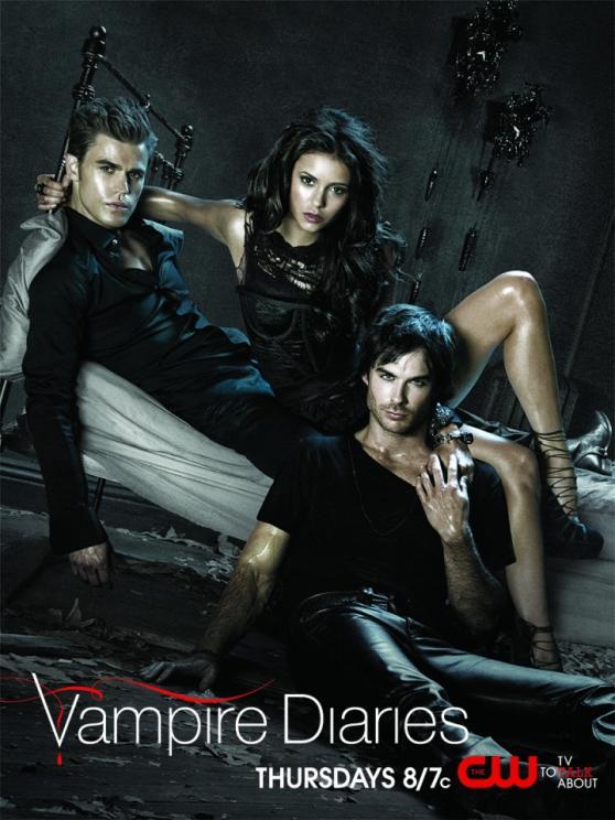 vampire diaries season 2 poster. Vampire Diaries Season 2:
