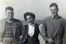 Grandparents Cima and Karl (on right), in Argentina 1950