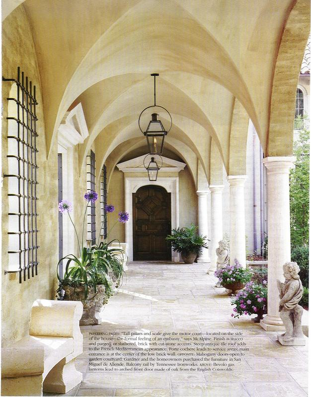 Interior design musings on my mind groin vaulted ceilings for Groin vault pictures