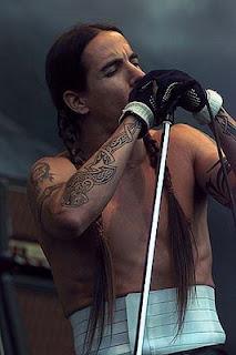 Anthony Kiedis Tattoo on the hand
