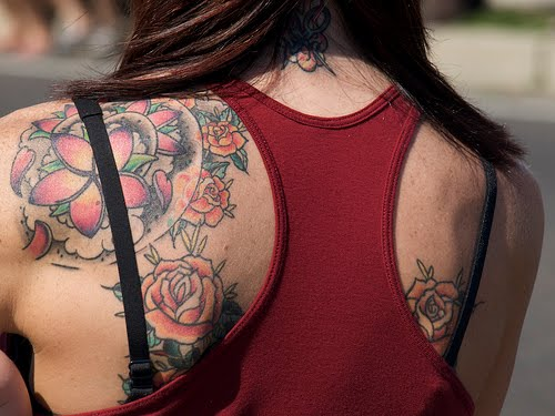 Tattoos Collection Best Shoulder Flower Tattoos For Men And Women