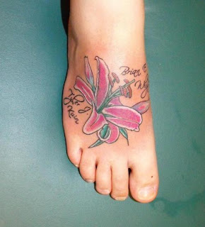 lily tattoos, tattooing