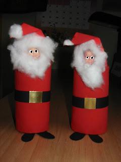 El Cole En Casa Manualidades De Navidad Papa Noel - Manualidades-navideas-papa-noel