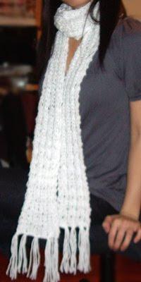 Loose Knitting Patterns : Purllin: Loose-Knit Scarf Pattern
